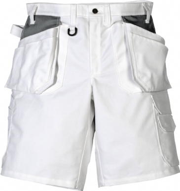 Fristads Cotton Shorts 257 BM (White)